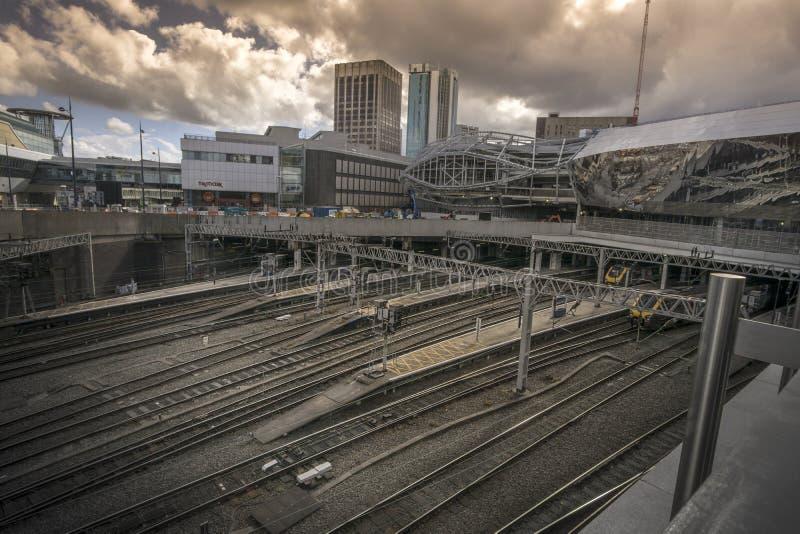 Birmingham, England, May, 3rd, New Street stock photography