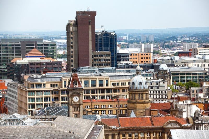 Birmingham England Skyline Royalty Free Stock Images
