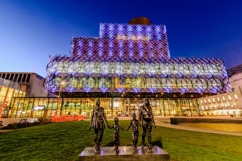 Birmingham Library stock photos