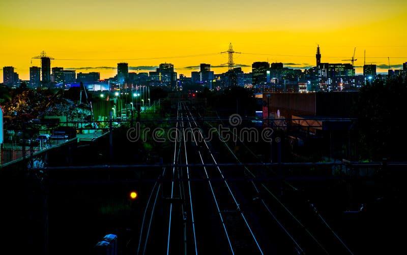 Birmingham miasta linia horyzontu obraz stock