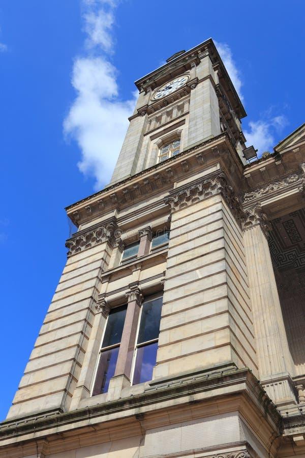 Birmingham Museum. Birmingham UK landmark - Museum and Art Gallery. Seen from public square. West Midlands, England stock images
