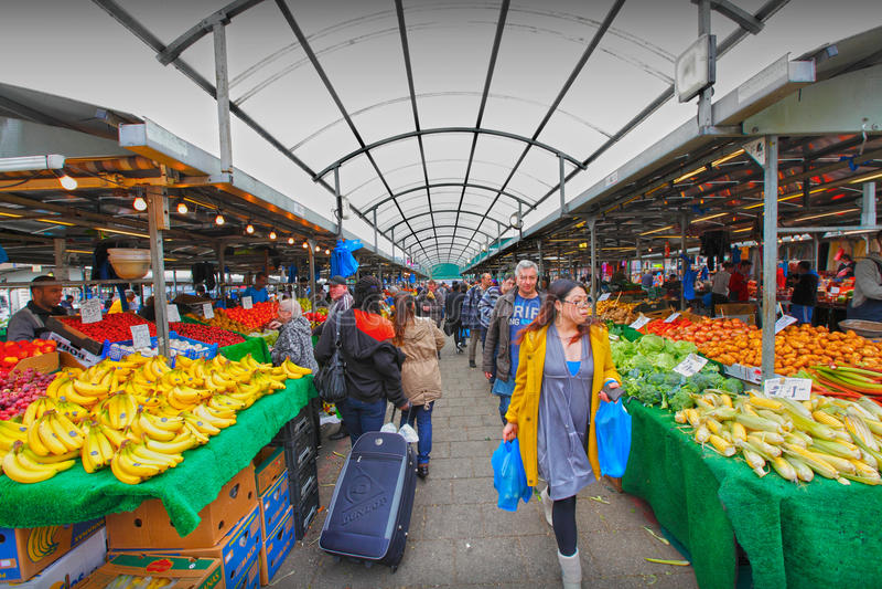 Birmingham rag market royalty free stock photography