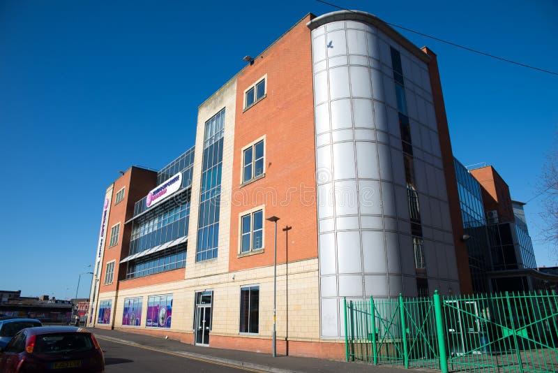 Birmingham söder och stadshögskola royaltyfri fotografi