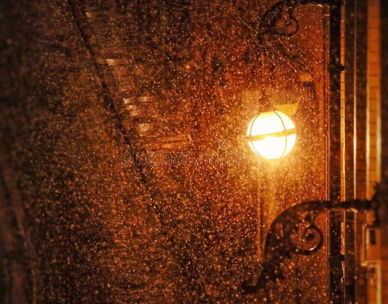 Birmingham-Schnee stockbilder