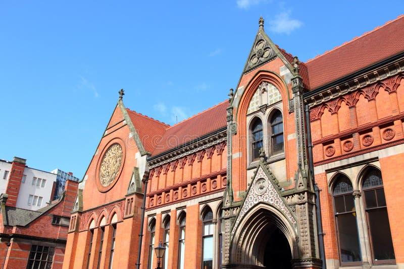 Birmingham-Stadt-Universität stockbilder