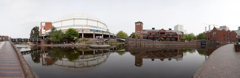 Birmingham-Stadtzentrum lizenzfreies stockbild