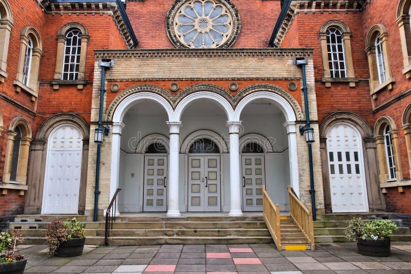 Birmingham-Synagoge lizenzfreies stockbild