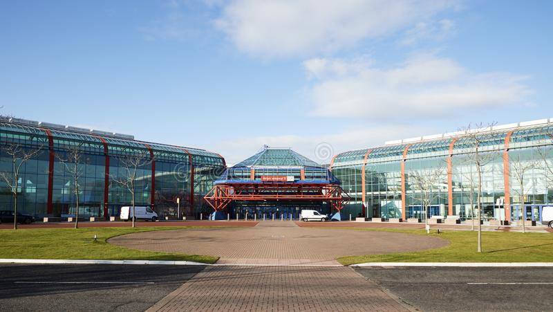 Birmingham, UK - 6 November 2016: Exterior Of The Birmingham National Exhibition Centre NEC royalty free stock photography