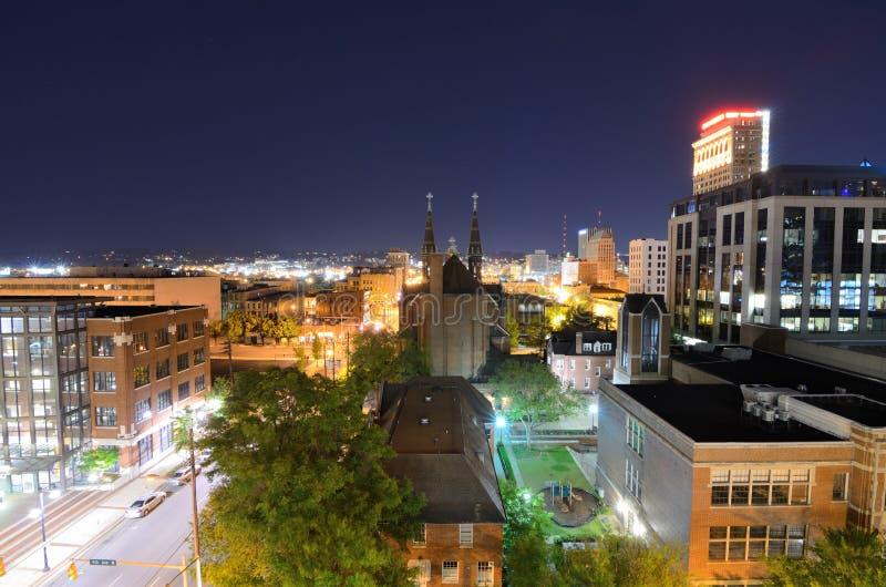 Birmingham van de binnenstad, Alabama stock fotografie