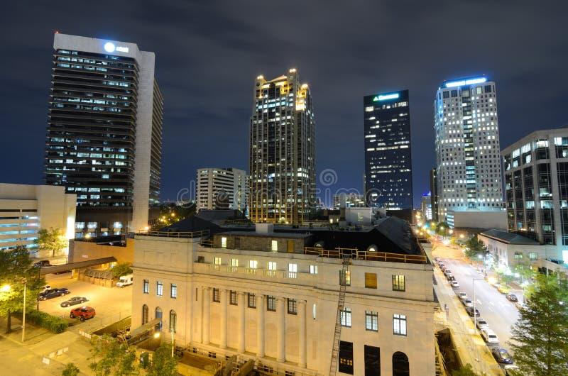 Birmingham van de binnenstad, Alabama royalty-vrije stock fotografie
