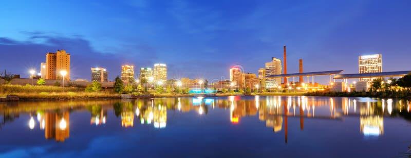 Birmingham van de binnenstad, Alabama royalty-vrije stock foto