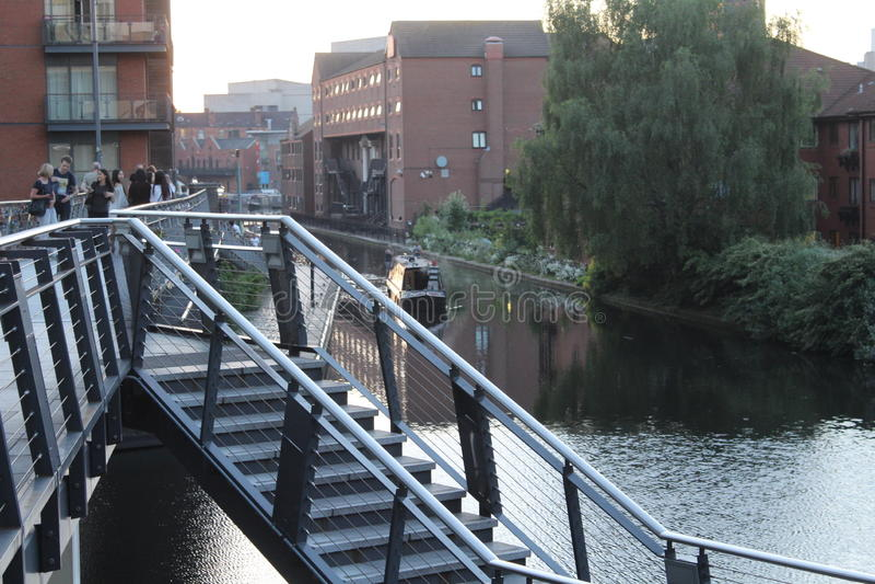 Birmingham velho e moderno fotos de stock royalty free