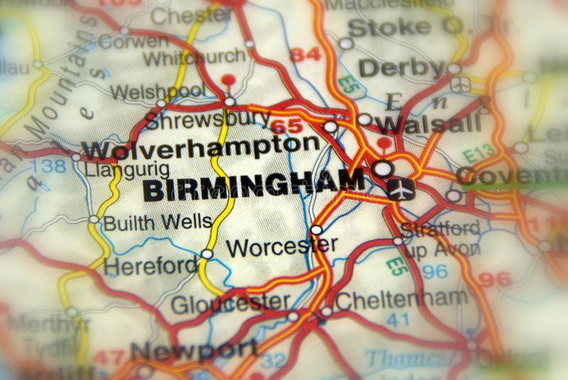 Birmingham, Vereinigtes Königreich Großbritannien - Europa stockbilder