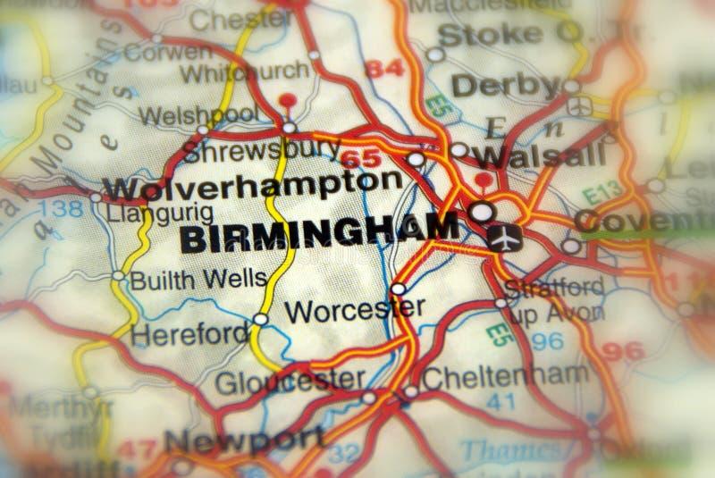 Birmingham, Zjednoczone Królestwo UK - Europa obrazy stock
