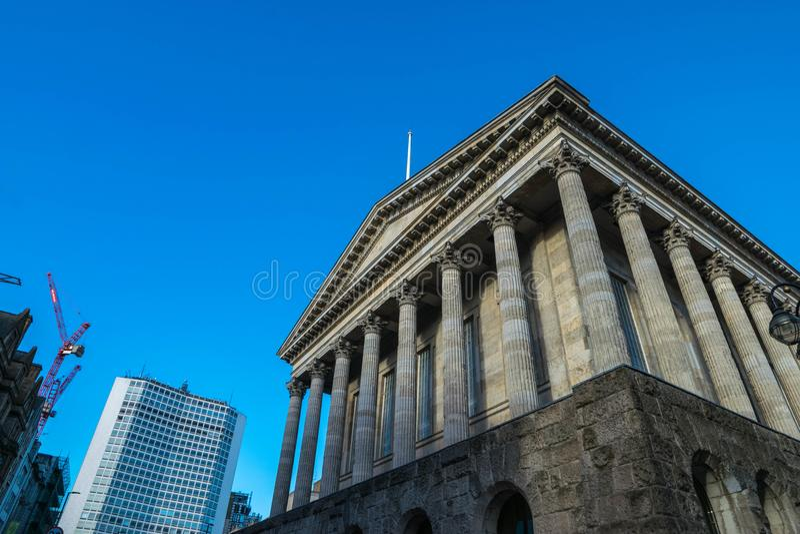 Birminghamm, het UK - 3 Oktober, 2017: Het stadhuis van Birmingham stock afbeeldingen