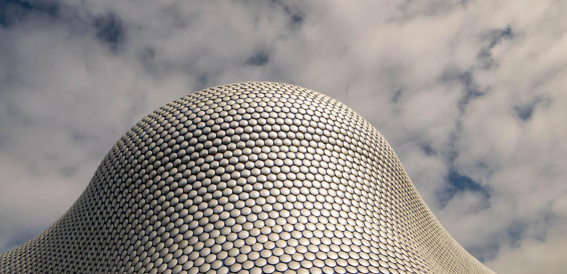Birminghamm, UK - October 3rd, 2017: the Bullring Shopping Centre, Birmingham, England stock photography