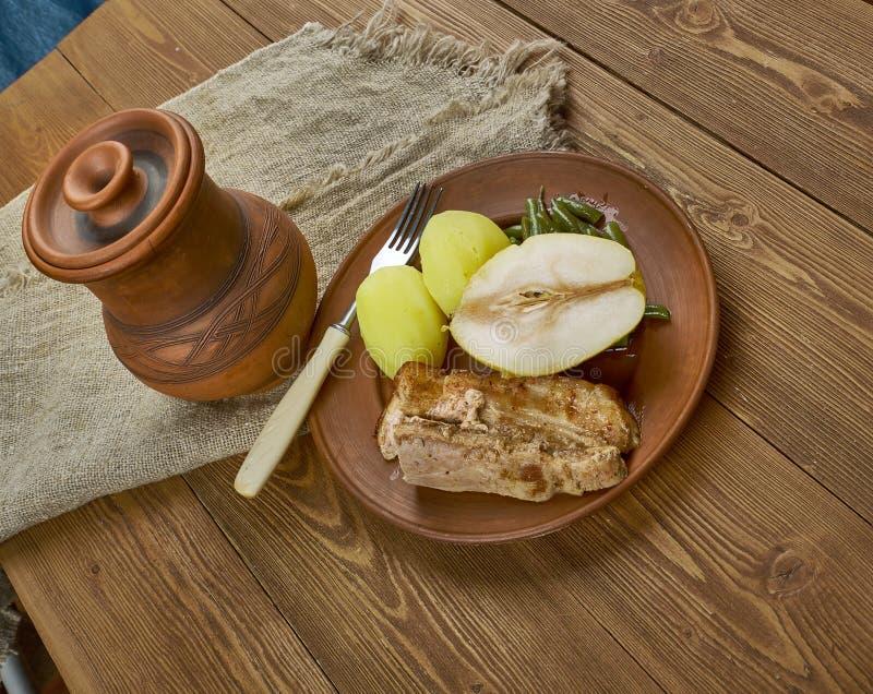 Birnen, Bohnen-und Fleck lizenzfreies stockbild