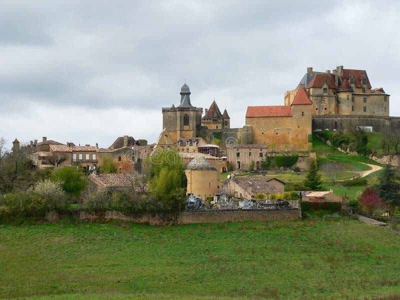 Biron (Γαλλία) στοκ φωτογραφίες με δικαίωμα ελεύθερης χρήσης