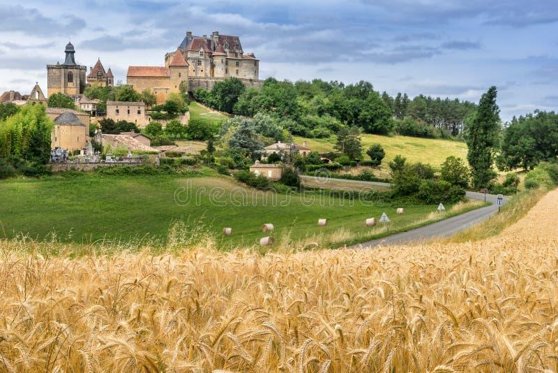 Biron στο Dordogne στοκ φωτογραφίες με δικαίωμα ελεύθερης χρήσης