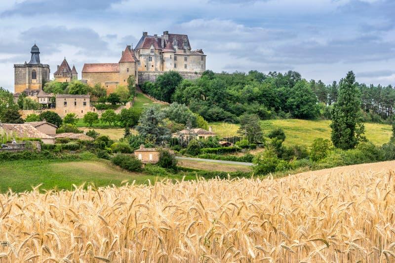 Biron στο Dordogne στοκ φωτογραφία με δικαίωμα ελεύθερης χρήσης