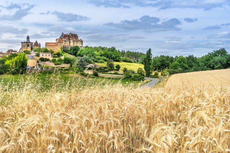 Biron στο Dordogne στοκ εικόνες