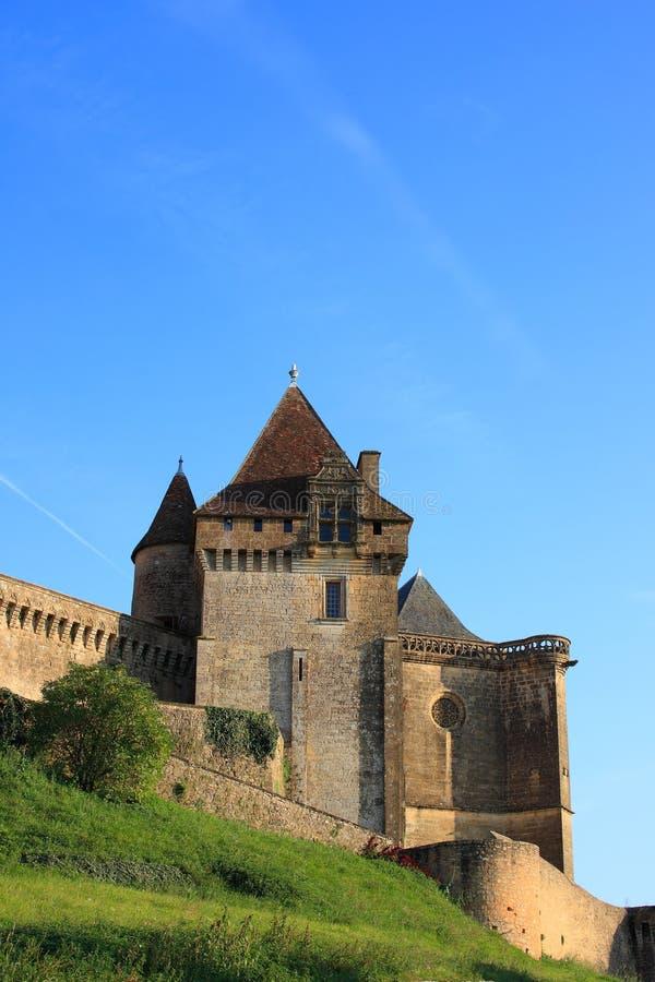 biron chateau de dordogne Γαλλία στοκ εικόνες με δικαίωμα ελεύθερης χρήσης