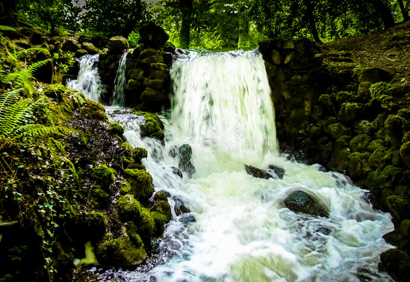 Birr Castle Waterfall stock photos