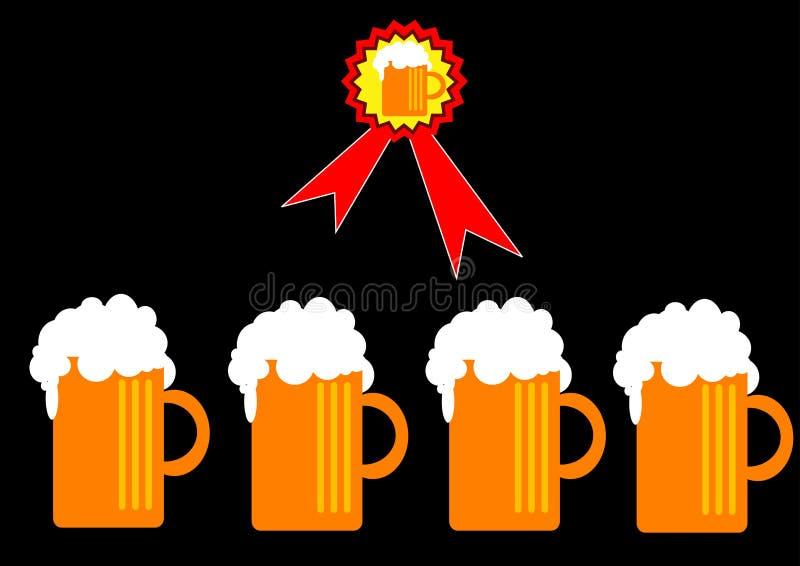 Birra illustrazione di stock
