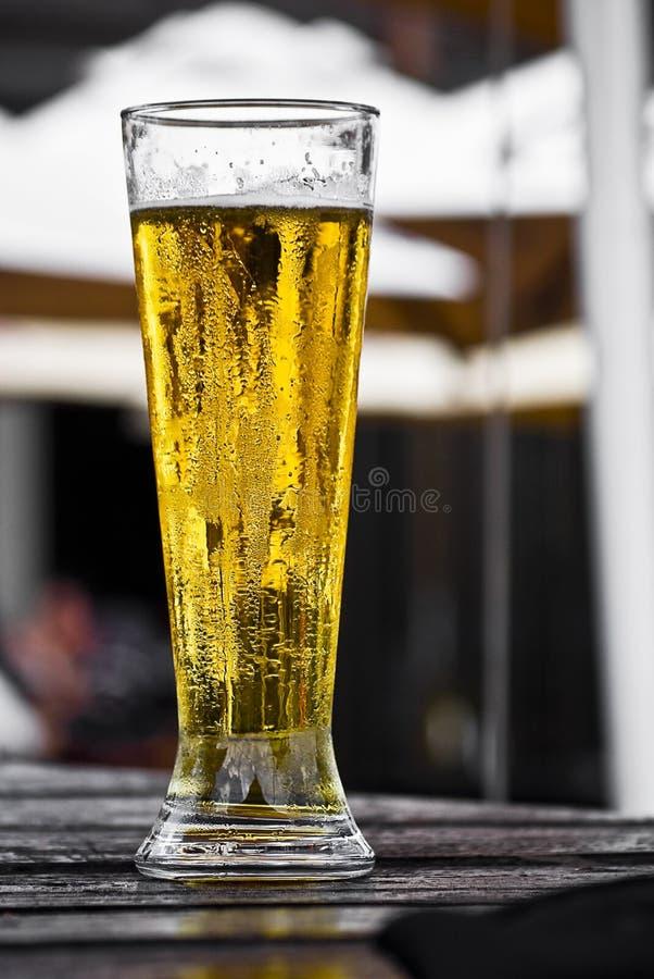 Birra alla spina fotografia stock