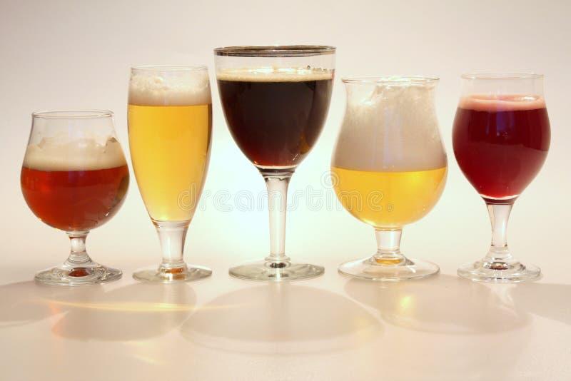 Birra belga immagini stock