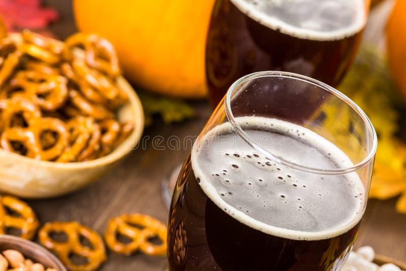 Birra del mestiere fotografia stock libera da diritti