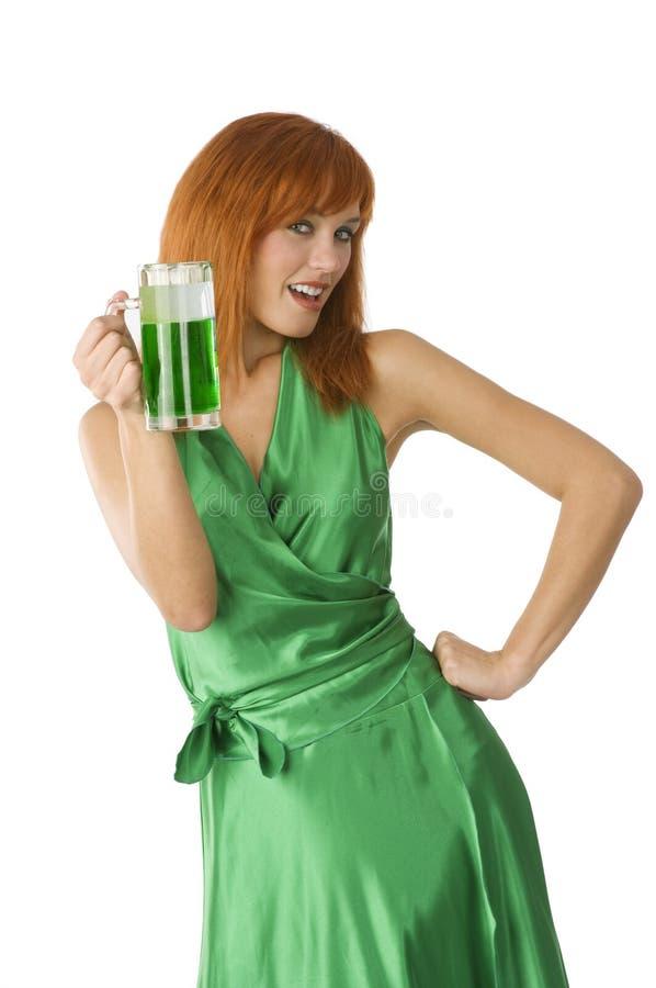 Birra del patrick santo immagini stock libere da diritti