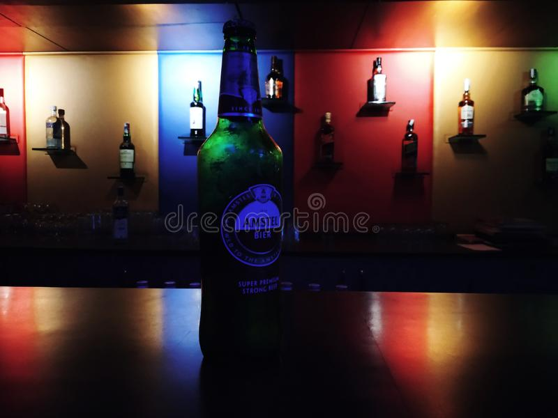 Birra di Amstel fotografie stock