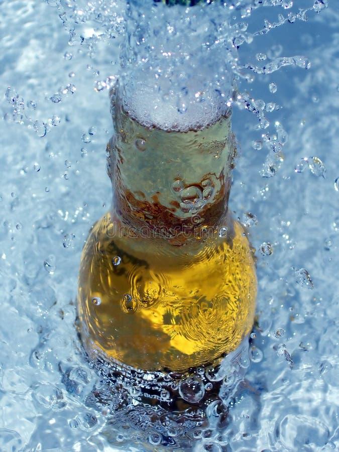 Birra di ghiaccio fresca immagini stock