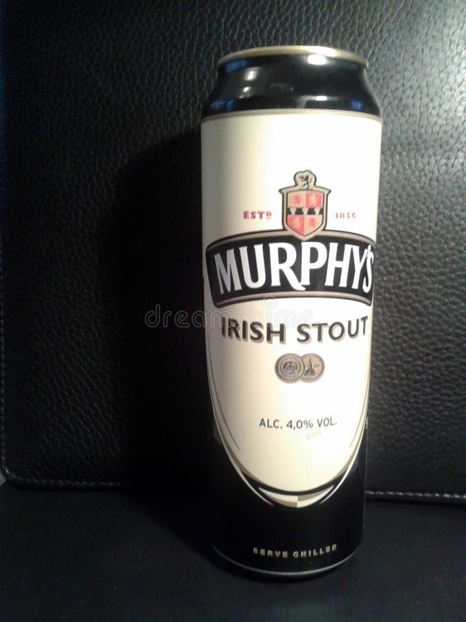 Birra di malto dell'Irlandese del ` s di Murphy immagini stock libere da diritti