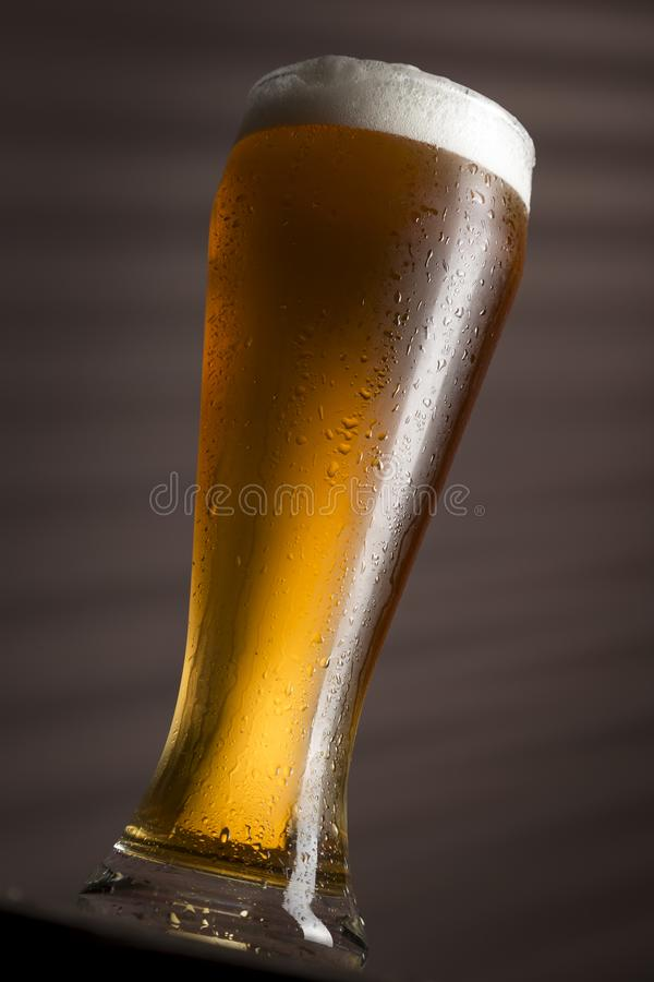 Birra pallida immagini stock