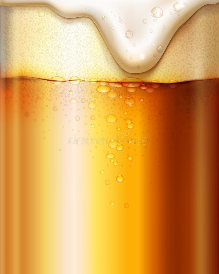 Birra Priorità bassa di Oktoberfest illustrazione di stock