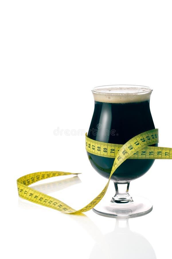 Birra scura immagine stock libera da diritti