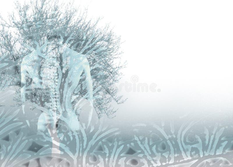 Download Birth stock illustration. Illustration of help, tree, abstract - 933257