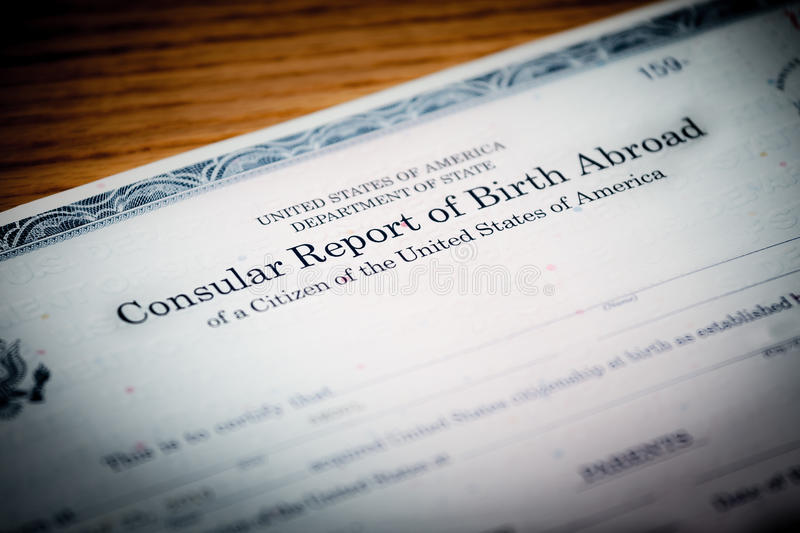 Birth Abroad royalty free stock images