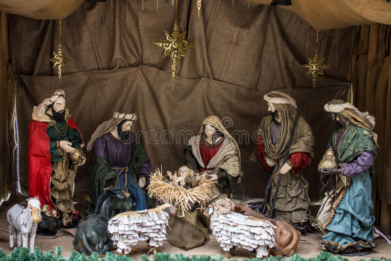 The birth Christ royalty free stock image