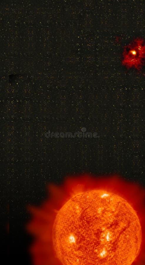 Download Birth of sun stock illustration. Image of astronomy, galaxy - 100902