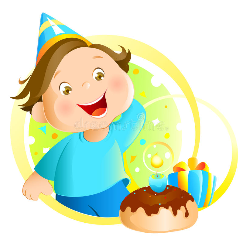 Birthday stock illustration