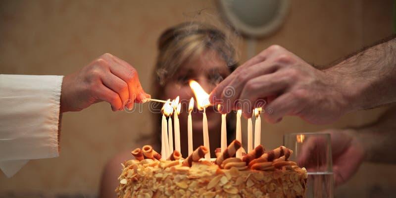 Birthday royalty free stock photos