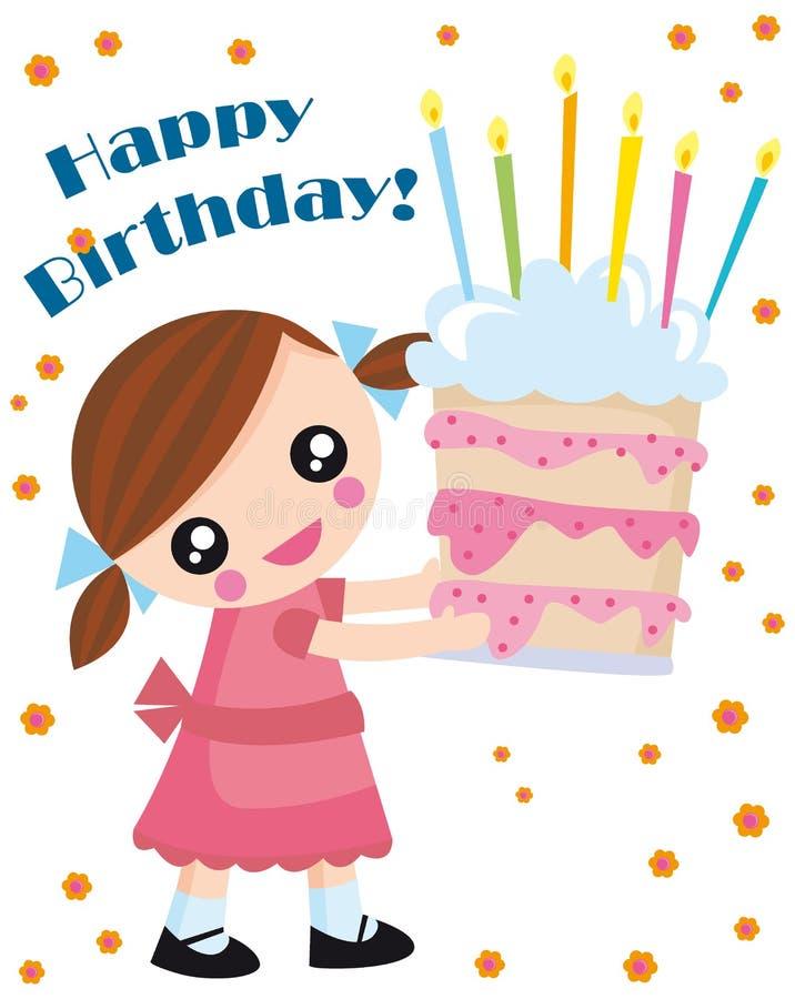 Birthday stock illustration