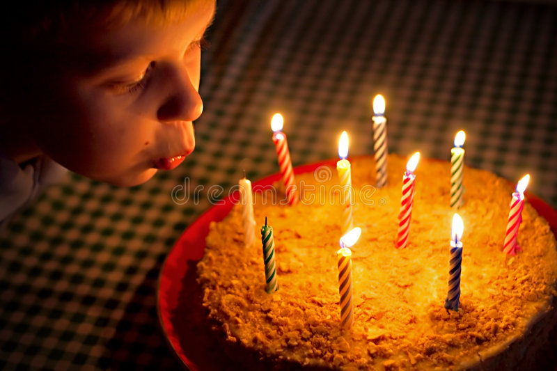 Download Birthday stock image. Image of table, blow, beautiful - 8629573
