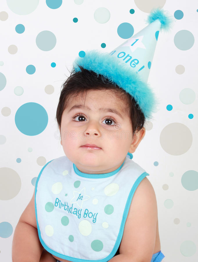 Birthday baby boy royalty free stock image