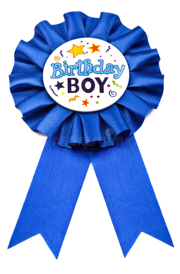 Birthday Badge stock photos