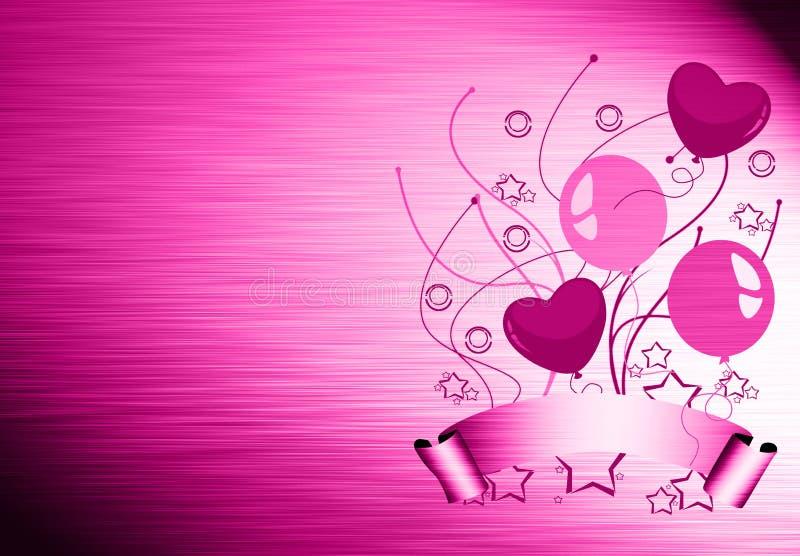 Download Birthday ballon card stock illustration. Illustration of oxygen - 26123695