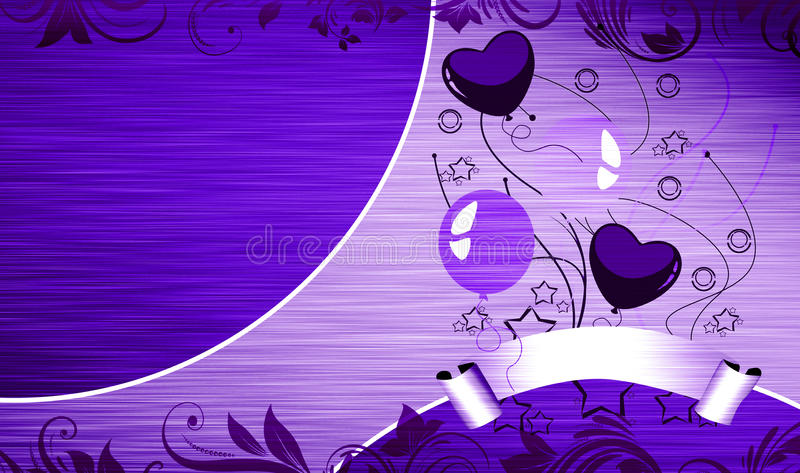 Download Birthday ballon card stock illustration. Illustration of holiday - 26123726